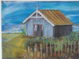 Liz's second hut