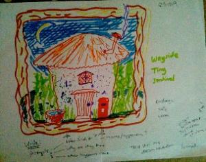 Liz's first dream hut picture