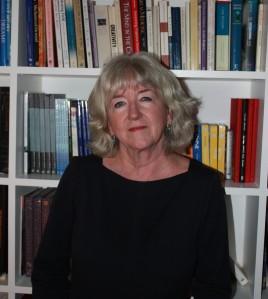 Brenda in her study
