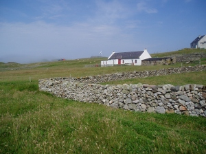 The book was set on a small island - research took me to Fair Isle in 2003