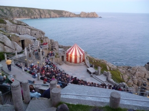 'The Taming of the Shrew' by an all-female cast at the Minack theatre - one of the lovely things on the calendar