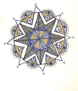 One of my working mandalas