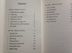 The Binding - 3 parts, 7 chapters each
