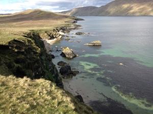 Walking the coast in Shetland