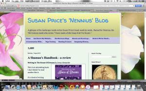 Susan Price's 'Nennius' blog